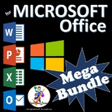 Microsoft Office 2016 & 2013 Lesson Plan Mega Bundle - Word PowerPoint Excel