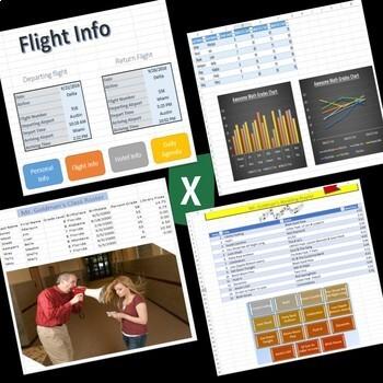 Microsoft Office 2016, 2013 Lesson Plan MegaBundle-Word PowerPoint Excel Outlook