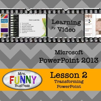 Microsoft PowerPoint 2013 Video Tutorial - Lesson 2
