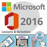 Microsoft Office 2016 BUNDLE Lessons & Activities
