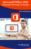 Microsoft Office 2016 Classroom Training Curriculum