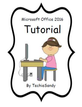 Microsoft Office 2016 Tutorial