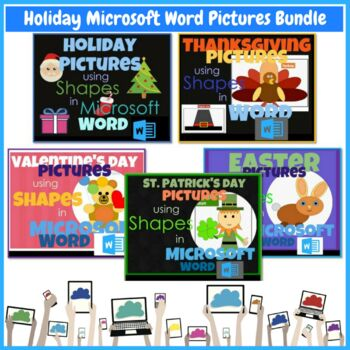 Office 365 Elementary Lessons & Activities BUNDLE