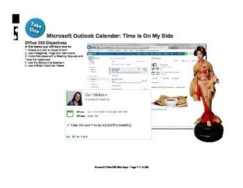 Microsoft Office 365 Web Apps: Calendars