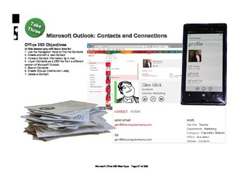 Microsoft Office 365 Web Apps: Contacts and Connections