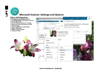 Microsoft Office 365 Web Apps: Outlook Settings and Options
