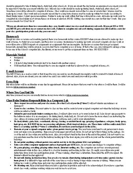 Microsoft Office- Course Guidelines-Syllabus