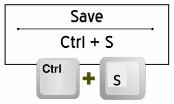 Microsoft Office Keyboard Shortcuts Bulletin Board Kit