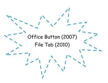 Microsoft Office Ribbon Activity