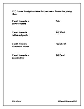 Microsoft Office Tools - Quiz