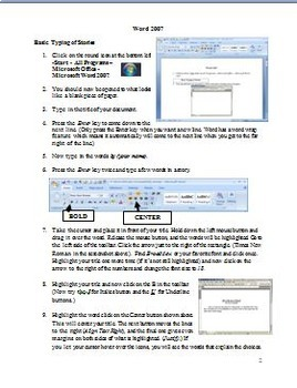 Microsoft Office 2007 Tutorial