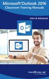 Microsoft Outlook 2016 Classroom Training Curriculum
