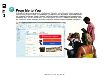 Microsoft Outlook 2010: From Me to You