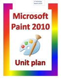 Microsoft Paint Program Lesson 1