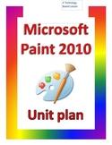 Microsoft Paint Program Lesson 1