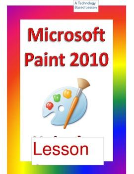 Microsoft Paint Program Lesson 2