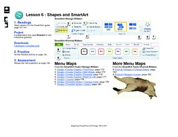 Microsoft PowerPoint 2010 Beginning: Shapes and SmartArt