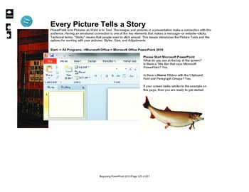 Microsoft PowerPoint 2010 Beginning: Working with Pictures