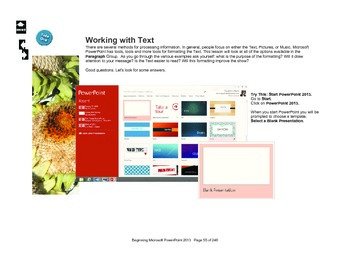 Microsoft PowerPoint 2010 Beginning: Textboxes (P is for Paragraph)