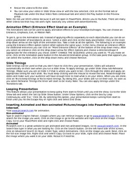 Microsoft PowerPoint 2010 Study-Reference Guide