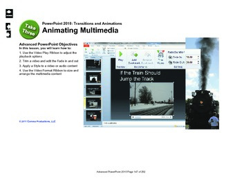Microsoft PowerPoint 2010 Advanced: Animation (The Pierre Marquette)
