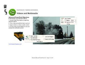 Microsoft PowerPoint 2013 Advanced: The Polar Express