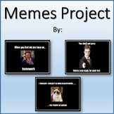 Memes Lesson Activity for Teaching Microsoft PowerPoint Skills