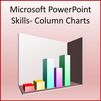 Microsoft PowerPoint Skills - Column Charts Lesson