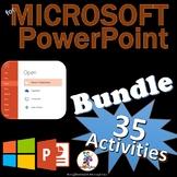 Microsoft PowerPoint 2016 & 2013 Skills Lesson Bundle - 31 Lessons