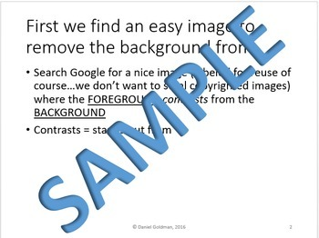 Microsoft PowerPoint Skills - Removing Image Backgrounds