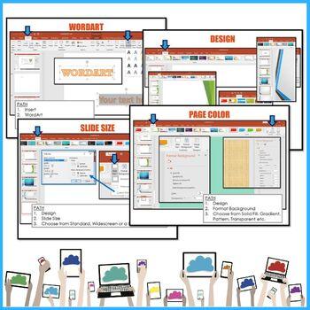 Microsoft PowerPoint 2016 Lesson Activities