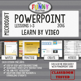 Microsoft PowerPoint 2016 Video Tutorial Lessons (MOS)