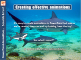 Microsoft PowerPoint – Creating Effective and Fun Animations