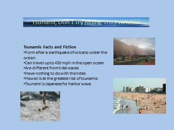 Microsoft PowerPoint Extreme Weather Science Project