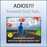 Farewell Card Activity for Teaching Microsoft PowerPoint Skills