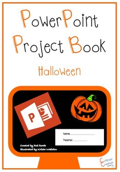 PowerPoint Project Planning Work Book - Halloween (ISTE 20