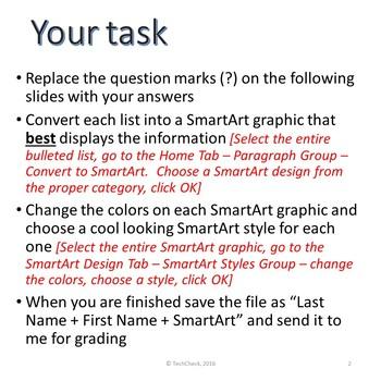 Microsoft PowerPoint Skills - SmartArt Intro