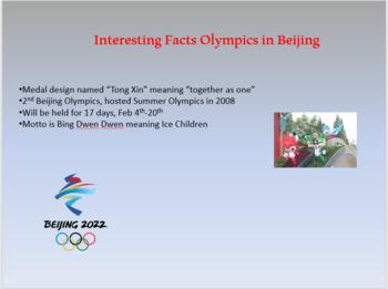 Microsoft PowerPoint Sochi 2014 Olympic Project