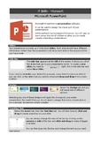 Microsoft PowerPoint - basic functions handout