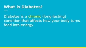 Microsoft PowerPoint on Basic Diabetes