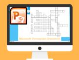 Microsoft Powerpoint Crossword Puzzle