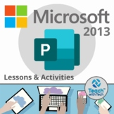 Microsoft Publisher 2013 Lesson & Activities