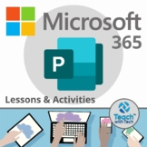 Microsoft Publisher Office 365 Lesson & Activities UPDATED 2018