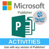 Microsoft Publisher Activities