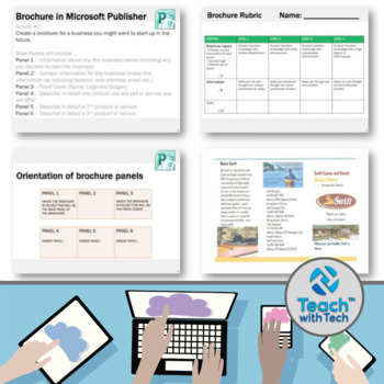 microsoft publisher activities by gavin middleton tpt