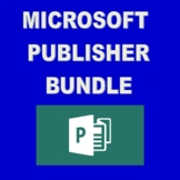 Microsoft Publisher Bundle of Assignments!