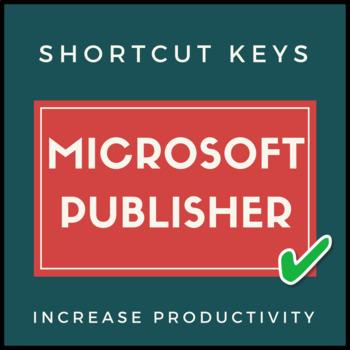Microsoft Publisher Shortcut Keys