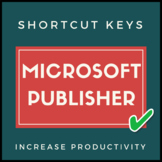 Microsoft Publisher Shortcut Keys