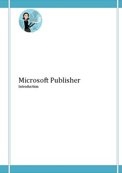 Microsoft Publisher Step by Step Guide with screenshots