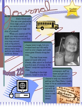 Microsoft Publisher Yearbook Project